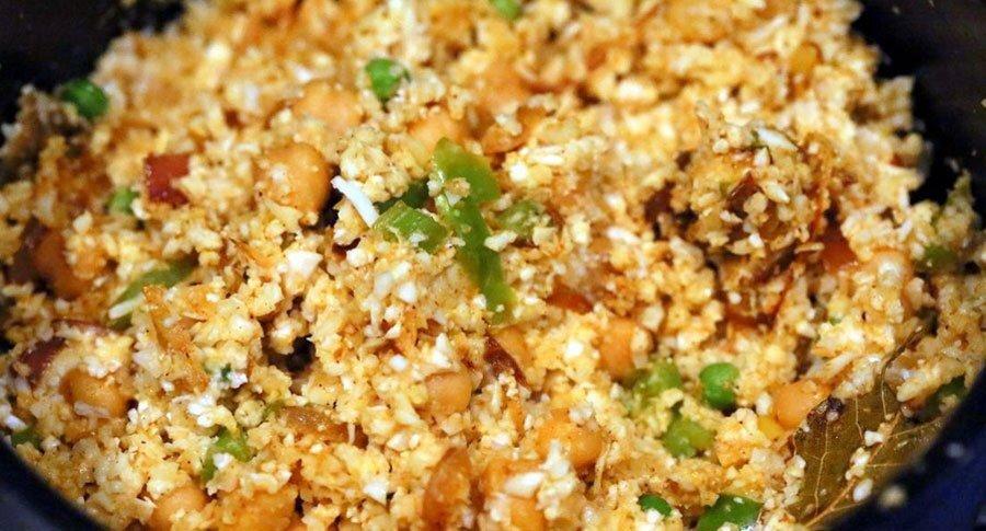 Chickpea Cauliflower Rice Biryani