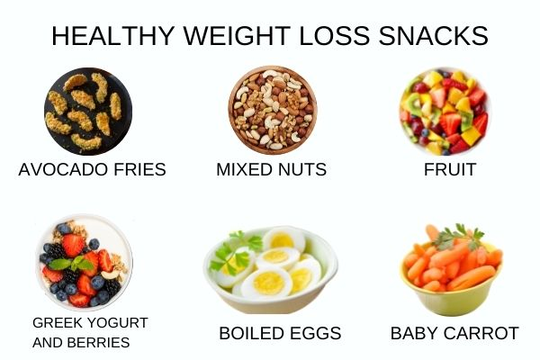 Healthy weight loss snack