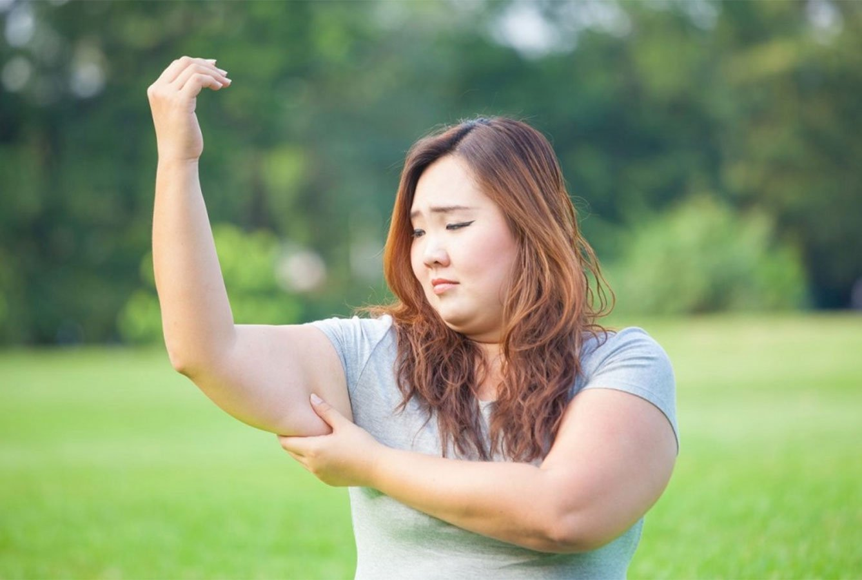 overweight girl